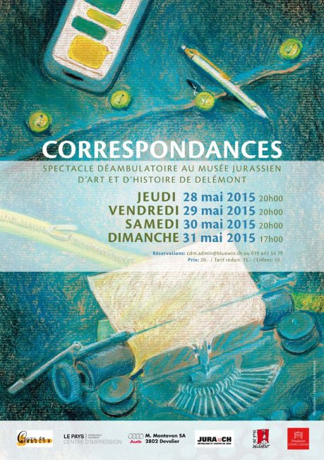 Correspondances - spectacle déambulatoire